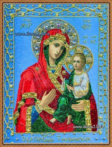 Молитва Тихвинской Божьей Матери