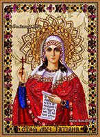 Вышитые бисером иконы Святой мученицы Татьяны